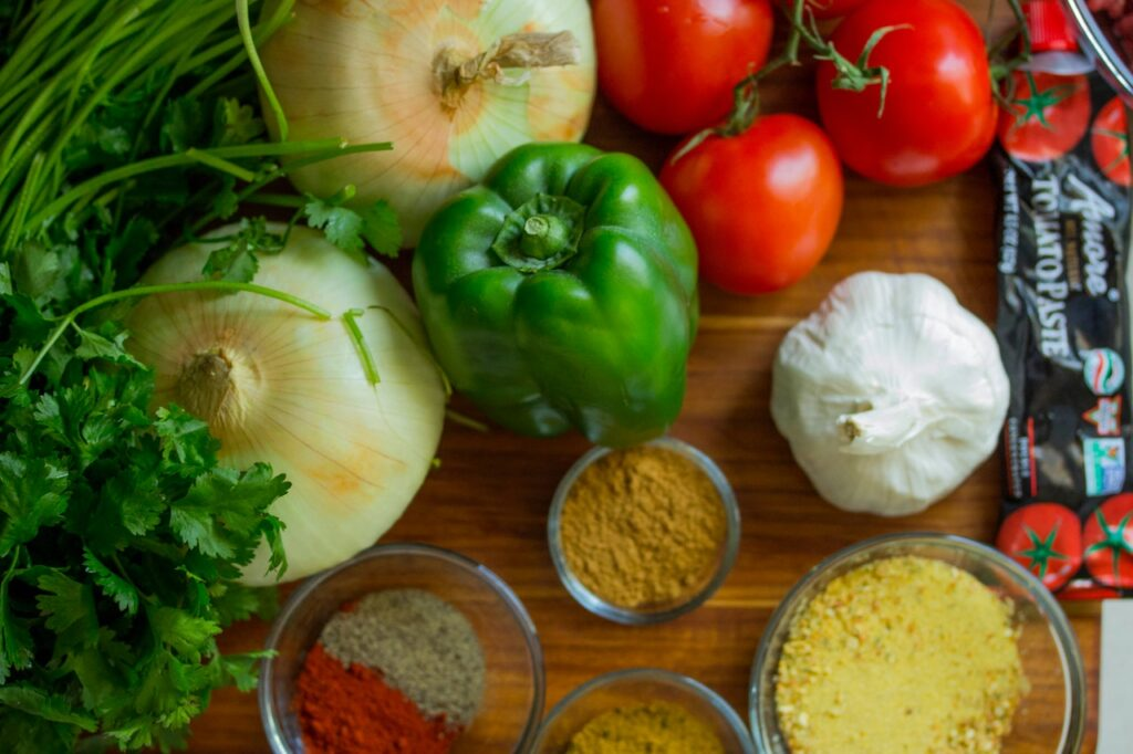 herbs and spices of italian cuisine